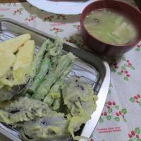 4/21帆立のバター炒めで夕ご飯