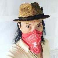 スポーツ用の筒状布:buffをマスクに