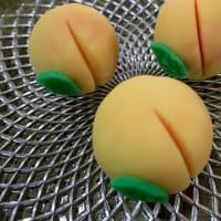 手作り和菓子 「白桃」(練り切り)