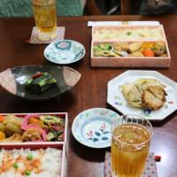 筍のご飯と桜えびのご飯