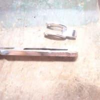 ネクタイピン 修理 根元折れ メッキの掛け直し
