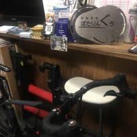 ブルホーンハンドル化  デローザ ロードバイク