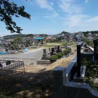 初夏の横浜;ちょっと足を伸ばして洋光台から日野公園墓地の展望を楽しむ