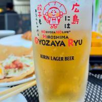 餃子家龍横川店で誕生日餃子!