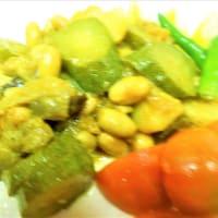大豆と野菜のカレー