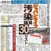 ジャパンライフ疑獄 → 自公政権の「中枢人物」がジャパンライフから便宜を受けていた!