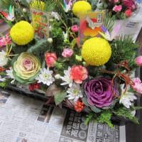 お正月の花~。(^O^)/