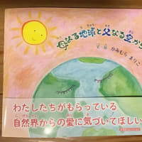 絵本「母なる地球と父なる空からのおくりもの」動画にしました⭐️