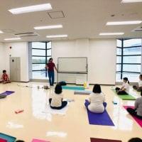 福岡ヨーガ講習会を開催しました