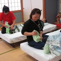 千代野デイサービスでボランティア in 石川