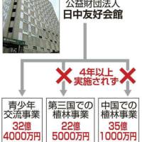 外務省は拠出した57億6千万円を返納出来るのか
