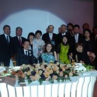 結婚披露宴に出席