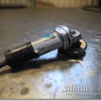 精密板金加工で使う工具「グラインダー」