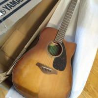 ギターを始めました。