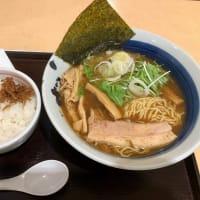 醤油ラーメン&くぎ煮ご飯(道神セット)