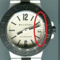 ブルガリ (BVLGARI)アルミニウム(Rif.AL38A)オーバーホール・秒針修理・ゼンマイ交換・機止めネジ交換・歯車調整