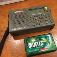 中華製 短波ラジオ RADIWOW R-108を購入