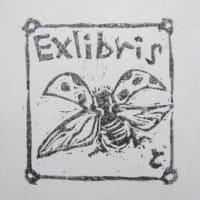 No.1954 てんとう虫のExlibris