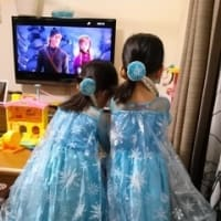 双子、4才の誕生日♪