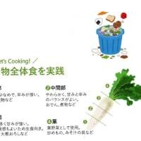 """「世界の飢餓対策」~昔ながらの和食""""一物全体食""""!!~ブログNo499"""