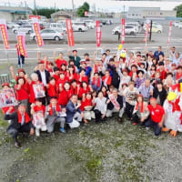 全国比例区 石田まさひろ候補が、茨城県内で街頭活動を展開。