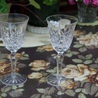 ウォーターフォードのワイングラス