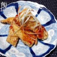 コリアンソースで食べるササミのカリカリ揚げ