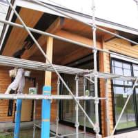 良い家を造って売りたい~わくわく進化プロジェクト『 東浪見ノ外房の家 』⌂Made in 外房の家。は、外壁塗装工事開始!!しました。