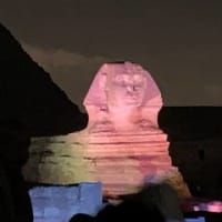 ニャン様御飯 ピラミッド音と光