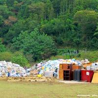 台風19号の災害ゴミは、より悲惨で・・・・・・!
