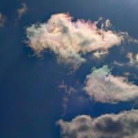 日光環 彩雲