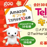 「Telop by goo」リリース記念💬 Twitter&Instagram Wキャンペーン!🎊