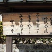 談山神社から明日香を通って持統天皇陵へも立ち寄って・・