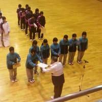 第9回選抜中学生ソフトテニスインドア大会in東海市 3位入賞!