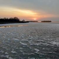 蘇州 太湖も凍りました