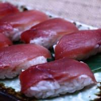 寿司には生姜だね。