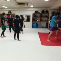 (金)キックボクシング初級&柔術打ち込みクラス