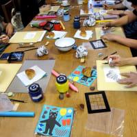 8月の田中MAN絵画教室を開催しました
