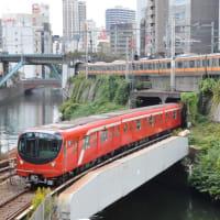 東京メトロ 2000系 & JR東 E233系 (湯島聖堂側)【神田川橋梁:丸ノ内線】 2020.NOV