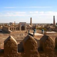 Khiva outlook☆世界遺産の街・クフナ・アルク