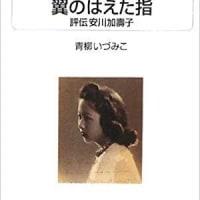 青柳いずみこ「翼のはえた指―評伝安川加壽子」
