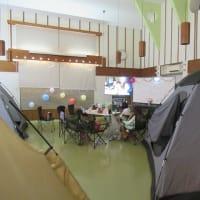 園内キャンプ