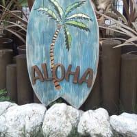 Kameya さんの出張教室とハワイアン雑貨風味