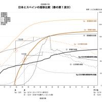 新コロ・日本とスペインの比較
