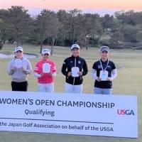 全米女子オープン21で 佐生優花プロが好スタート!