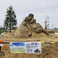 砂の彫刻美術展イベント!!