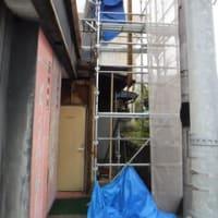 雨漏れで腐食してしまった箇所を修繕していきます ・・・ 工務店 大工