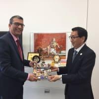 インド大使館と本協会との共催イベント