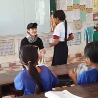ナカタアツヒト学校の日本語クラスを瀬戸康史さんが訪ねました