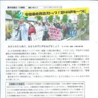 市民と野党は共闘 11.9久御山共同アクション(京都南部)